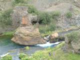 Some rockformations in a place called Gjain in Thjorsardalur