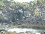 Some strange rock formations