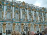 The outside of Catherine Palace