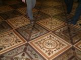 The decorations in the floors at the Hermitage are incredible