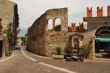 Old Romanesque ruins in Bardolino