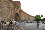 An old city wall in Verona