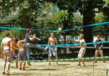 Volley in the Royal Parc
