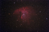NGC 281 Sh2-184 The Pacman Nebula with Open Cluster IC 1590
