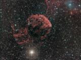 IC 443 The Jellyfish Nebula + SH2-249