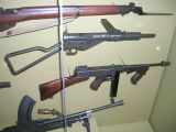 STEN, Thompson, Enfield and BREN MKII