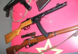 PPSH41 and Mosin Nagant Sniper