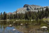 lake near trailhead