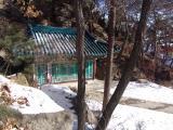 Samsunamsa Temple in winter