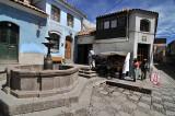 Old plaza in Potosi