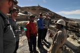 Preparing to enter Cerro Rico for a guided tour