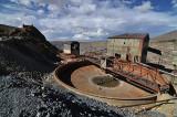 Industrial mining equipment on Cerro Rico