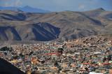 Potosi city view from Cerro Rico