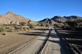 On the road between Potosi and Uyuni