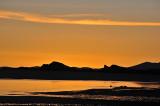 Sunset on the Salar de Uyuni