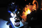 Supper on the Salar de Uyuni