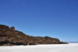 Fish Island on the Salar de Uyuni