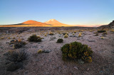Altiplano Sunrise over Vulcan Ollague