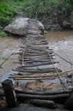 Footbridge near Consata