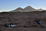 After a cold night of camping on the altiplano