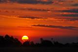 Santa Cruz, Bolivia sunset