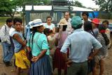 La Brecha flood victims receiving relief supplies