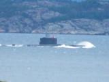 Norwegian Submarine in Force 10