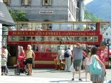 The Free bus to the Cable Car