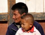 dad and son-Bhutan