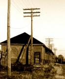 Train Station, Grand Trunk Western, Michigan