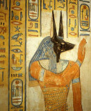Egyptian God of the Night and Death, Annubis