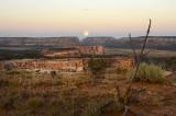 Moonrise Over the Acoma Pueblo