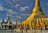 Mroning at Shwedagon Pagoda