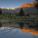 Alpine Glow on a Sierra Morning