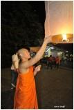 Loï Kratong Festival Chiang Mai Thaïland