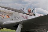 Marc Mathis et Mustang P 51 D