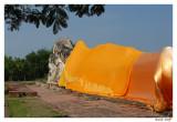 Bouddha couche Ayuthaya