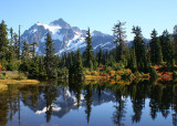 06 Mt Shuksan, Picture Lake