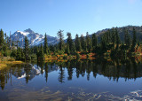 07 Mt Shuksan, Picture Lake