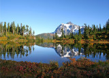 08 Mt Shuksan, Picture Lake