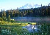44 misty reflection lake