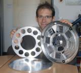Huge Astronomik filter wheel
