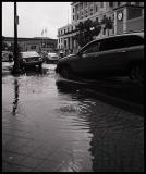 Rain in Downtown Miami