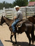 Cowhand at the George Ranch