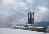 Monastary snow #1