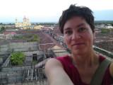 Me on top of La Merced church in Granada