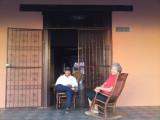 Elderly couple lounging, Granada, Nicaragua