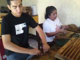 Making cigars