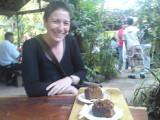 Yvonne at La Casita cafe