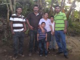 Our host family: Uriel, Marvin, Mefalia, Jason, Wilder, Freyder